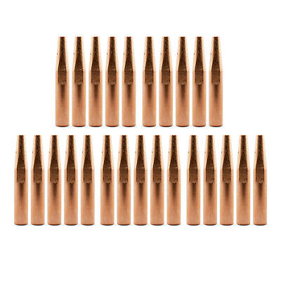 MIG Contact Tips - Long Life- 0.9mm Bernard Style- 25 pack - Conical 51mm - 4281