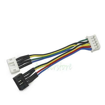 PWM 5 Pin to 2x 4Pin Convert Connector Extension Cable For Asus GPU VGA Card