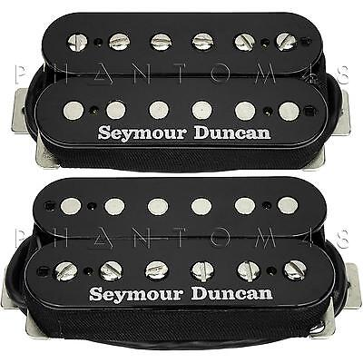 Seymour Duncan SH-4 JB & SH-2n Jazz HOT RODDED Humbucker Pickup Set BLACK NEW