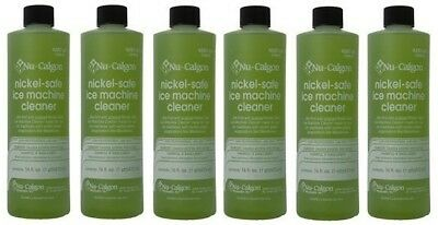6-Lot Nu-Calgon 4287-34 Nickel-Safe Ice Machine Cleaner - New OEM