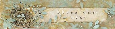 """Unframed Print--""""Bless Our Nest""""- by  Penny Lane Prints"""