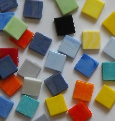 Sicis Smalto Italian glass tiles for mosaic - 200g mixed bag