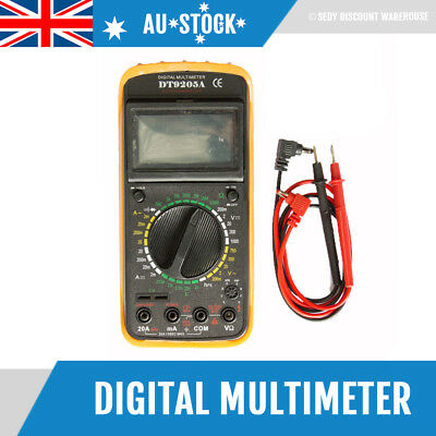 LCD Digital Multimeter Auto Power Off, AC DC Voltmeter Ohmmeter Multi Tester