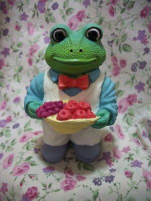 New Frog Figure With Fruit