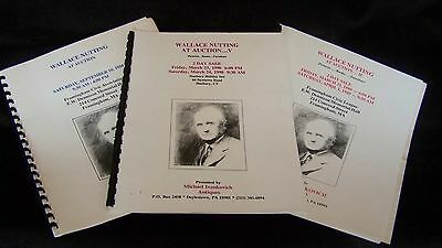 Wallace Nutting At Auction Pictures Books Furniture 1988 1989 1990 Framingham Ma