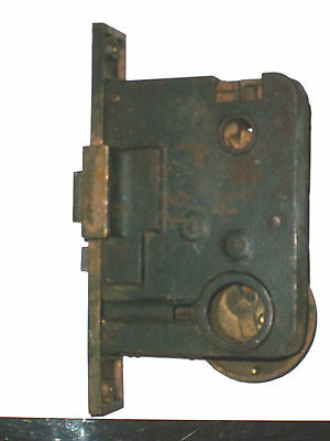 Antique Von Duprin Mortise Lock for Thumb  Latch Style Locks