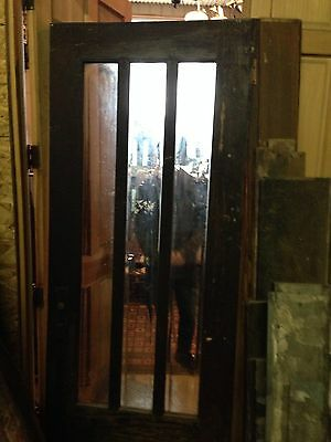 Arts Crafts Beveled Glass Entrance Door D 12