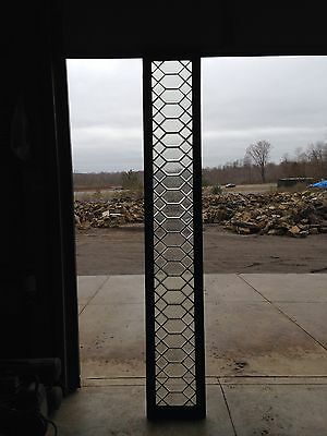 Antique Beveled Glass Transom Window Sg 258