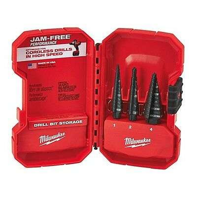 Milwaukee 48-89-9221 Step Drill Bit Set (3 PC)