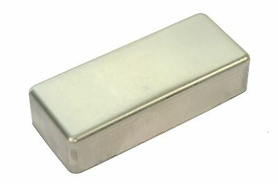 Mini Humbucker Pickup Cover NON-plated RAW nickel silver NO HOLES