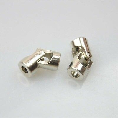 2pcs Universal Joint Shaft Coupling 5MM*4MM Stainless Steel RC Boat Connector