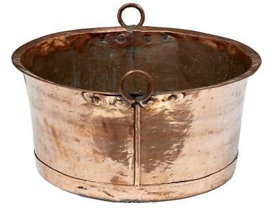 Large 19Th Century Copper Pot