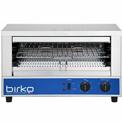 Birko Wide Mouth 10 Amp Commercial Toaster Grill Quartz 1002001