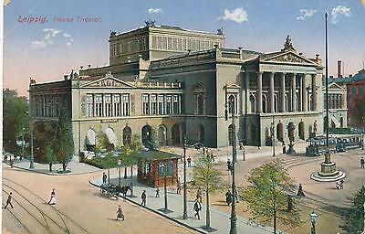Ak Leipzig, Neues Theater, 1915, (G)