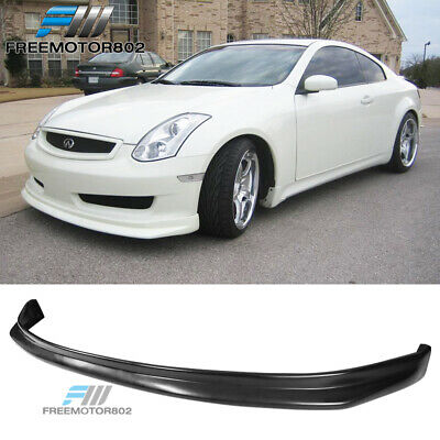 For 03-06 Infiniti G35 Coupe Nis Style Front Bumper Lip Spoiler Bodykit Urethane