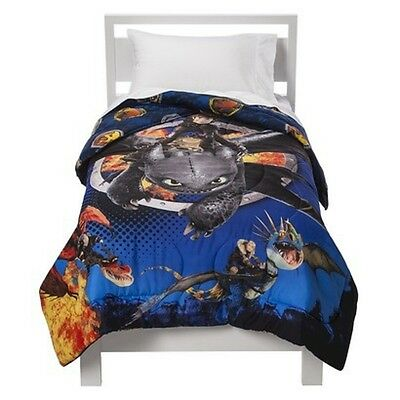 New How To Train Your Dragon 2 Bedding Comforter Sheets Throw Blanket