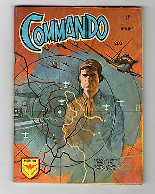 ►Commando N°202 -  Les As De La R.a.f. -  Aredit 1972  - Tbe