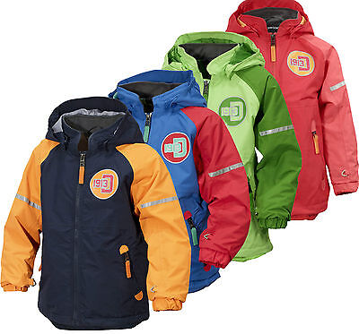 Didriksons Emin Kids Jacket Lightweight Waterproof Childrens Coat 500028