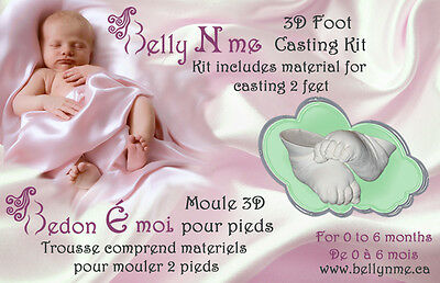 3D Foot mold casting kit