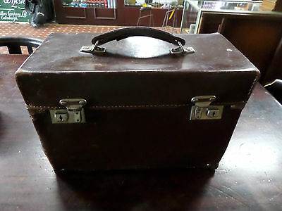 Ambulance Leather Bag 1930's (431)