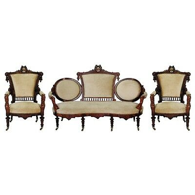 Victorian Parlor Set by John Jelliff 1800-1899 #465