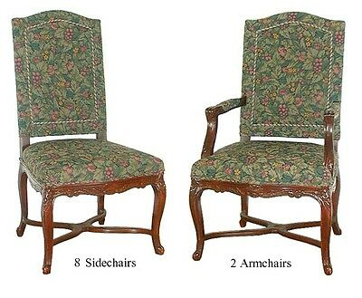 Antique Dining Chairs,set of 10 American #5425