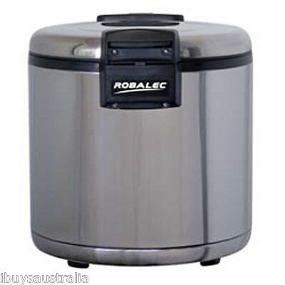 Robalec 9.6L 53 Cup Rice Warmer with Non-Stick Coated Bowl SW9600