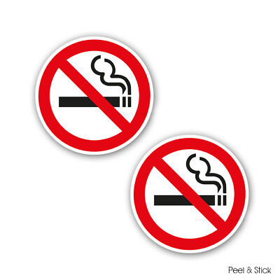"""NO SMOKING STICKERS SIGNS / WATERPROOF /Self Adhesive Sticker/ """" FREE DELIVERY """""""