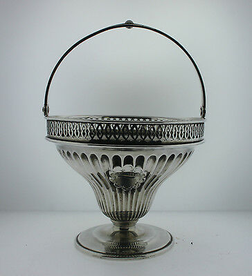 Vintage Marcus & Co New York 1195 Sterling Silver Vase Basket 165 Grams
