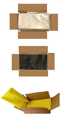 Bin Rubbish Bags Refuse Sacks On Roll and Red Clear Black Bags Various Choice