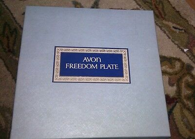 Collector Plate Avon Freedom,