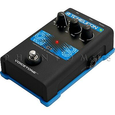 TC-Helicon VoiceTone C1 Vocal Auto-Tune & Pitch Correction T-PAIN Effects Pedal