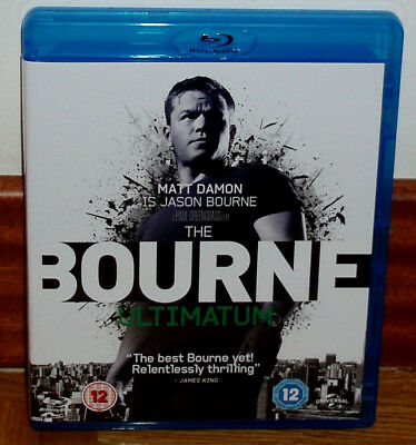 El Ultimatum De Bourne Blu-Ray Nuevo Matt Damon Accion Aventuras Castellano R2