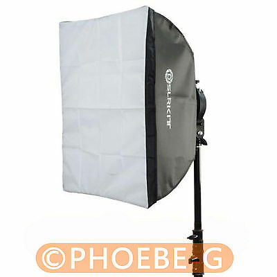 "Photo Studio Softbox with Bowens Mount for Mini Flash Strobe 60x60cm 24""x24"""