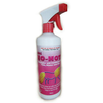 NRG No Nots Hair Polish horse pony dog detangles show stables kennels  500ml