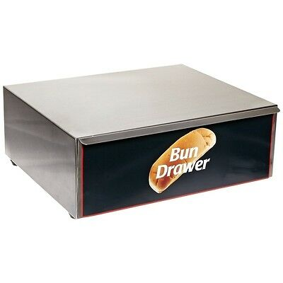 Benchmark Bun Box – 10 Dog Grill 65010 Hotdog Roller Grill NEW