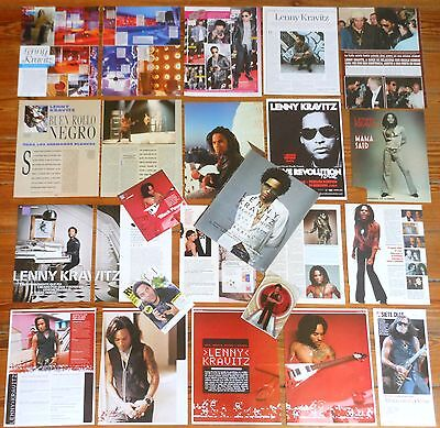 LENNY KRAVITZ spanish clippings 1990s/10s 43 photos magazine articles pictures