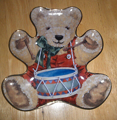 Franklin Mint Little Drummer Bear by Sarah Bengry