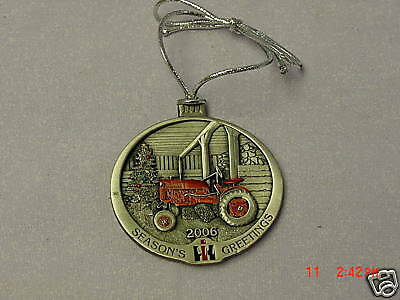 IH International Harvester 2006 Painted Pewter Ornament