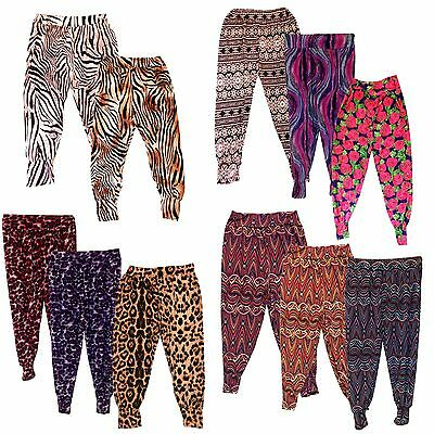 NEW Girls LOVELY Harem Pants/Trousers/Baggy Ali Baba Leggings/Bottom 7-13yrs #81