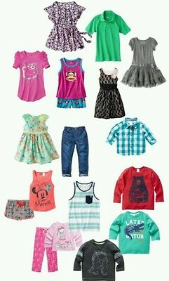 BRAND NEW CHILDRENS WHOLSALE GROUP 50 pieces NWT GIRLS OR BOYS ALL SIZES