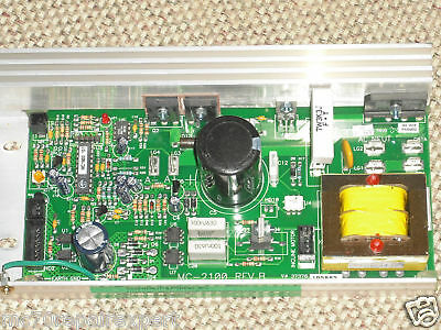 MC 2100 12A and  MC 2100-WA Treadmill Motor Controller Repair Service