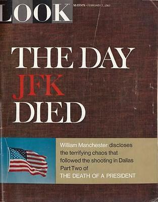 Look Magazine February 7, 1967  The Day JFK Died