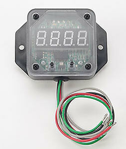 JEGS Performance Products 40824 RPM-Activated Window Switch Digital Readout