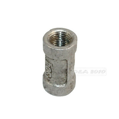 "1/8"" Female x 1/8"" Female Couple Stainless Steel 304 Threaded Pipe Fitting BSPT"