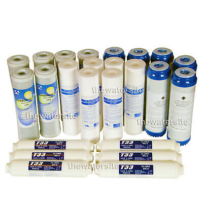 6x4 (24) SPARE FILTERS FOR REVERSE OSMOSIS WATER FILTER