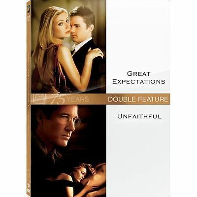 Great Expectations/Unfaithful: Double Feature (DVD, 2010, WS; Fox 75th...