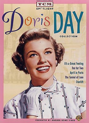 NEW 5DVD SET // Doris Day Collection //5 FULL LENGTH MOVIES // TCM CLASSIC