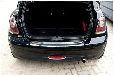 Stainless Steel Boot Edge Protector compatible with Mini 2 II R56 2006-02/2014