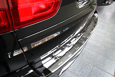 Stainless Steel Boot Edge Protector compatible with BMW X5 E70 Built 2007-2014